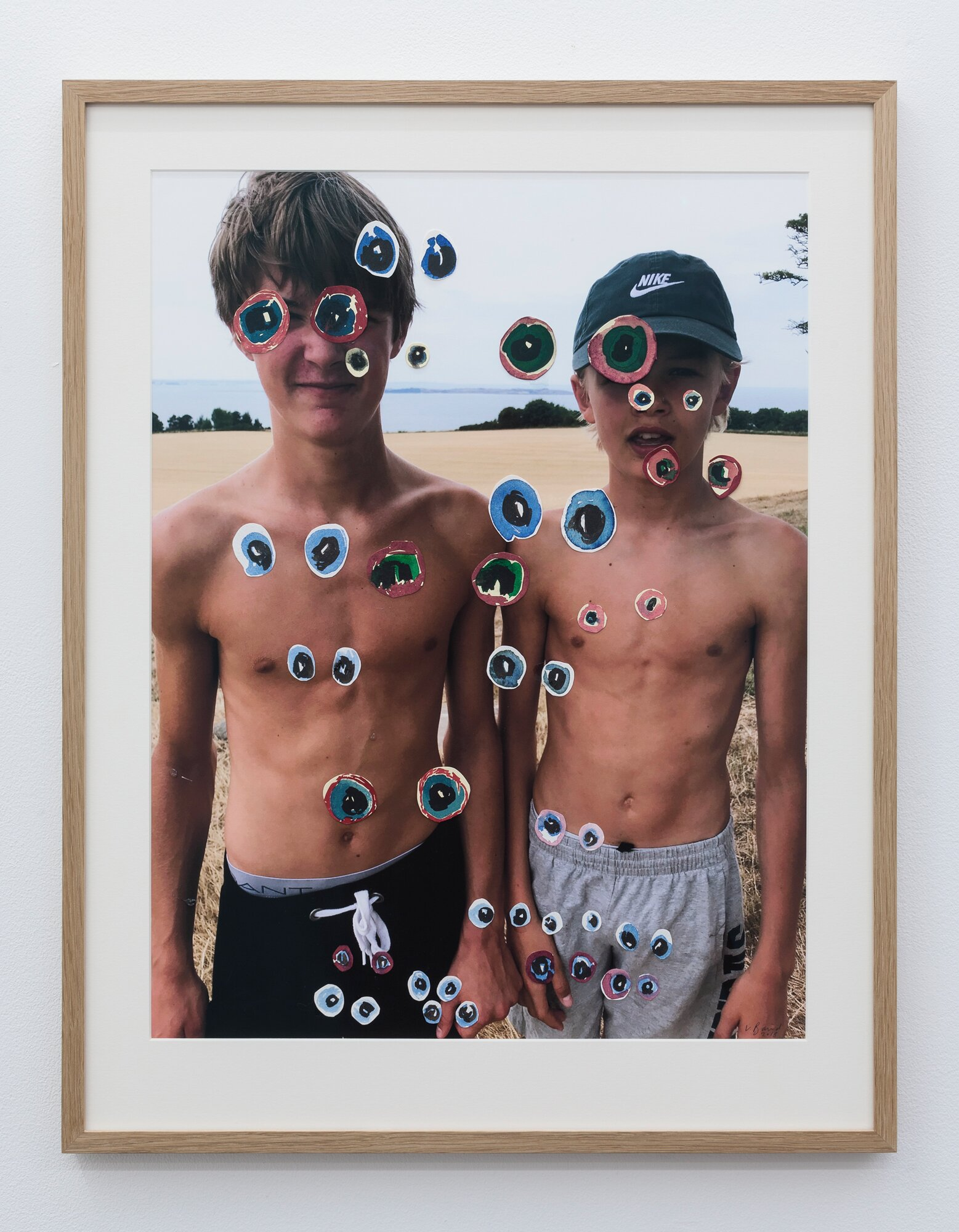 Vanessa Baird 'Brothers' (2018). Courtesy OSL contemporary.